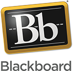 Blackboard Icon. Selecting image reveals screen shot of search results within Blackboard after searching for UM Accessibility.